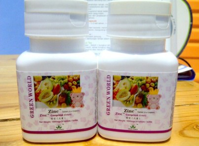 zinc tablet anak